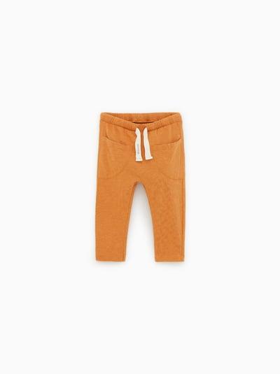 dc05f0118d6 ZARA - Unisex - Flame pants with drawstring - Caramel - 3-6 months ...