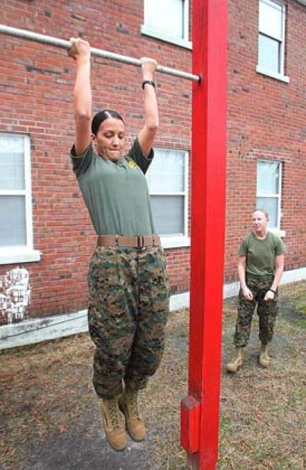USMC Female PFT Poolee Program Motivation Working Out Pinterest