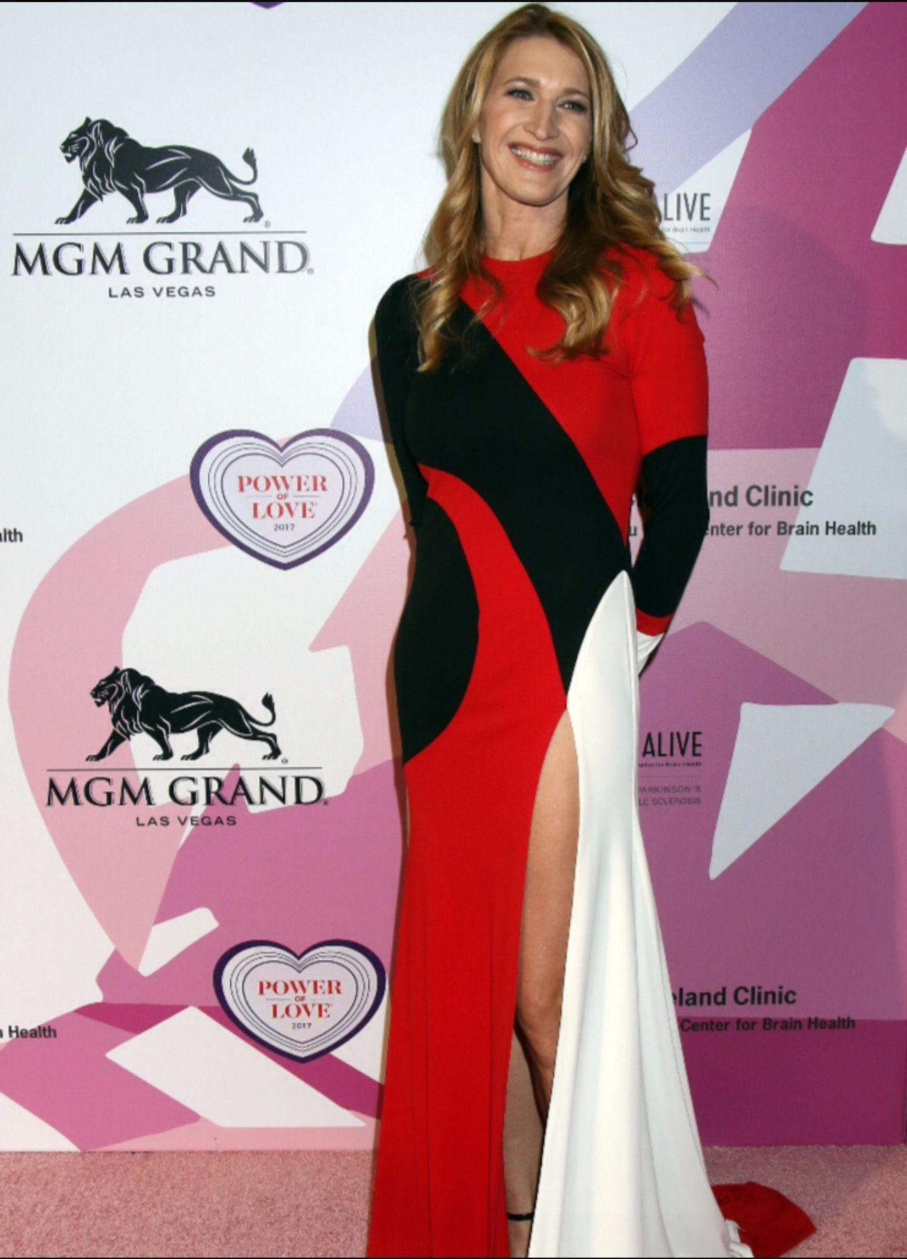 Pin By Luzi On Steffi Graf Steffi Graf Mgm Grand Las Vegas Formal Dresses