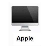 Desktop Computer Emoji Computer Emoji Computer Desktop Computers