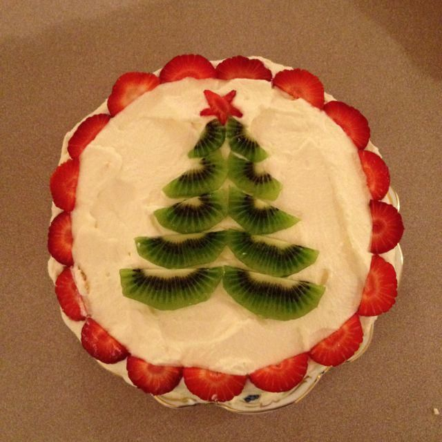 The perfect way to decorate your Christmas Pavlova. I miss Christmas down under! #christmaslunch