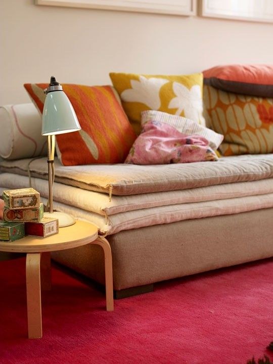 Diy Inspiration Daybeds: French By Design: Cosy And Comfy : Daybeds...like The