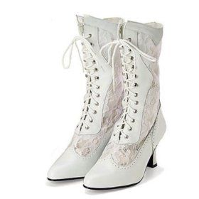 Womens Victorian Boots Shoes Slippers