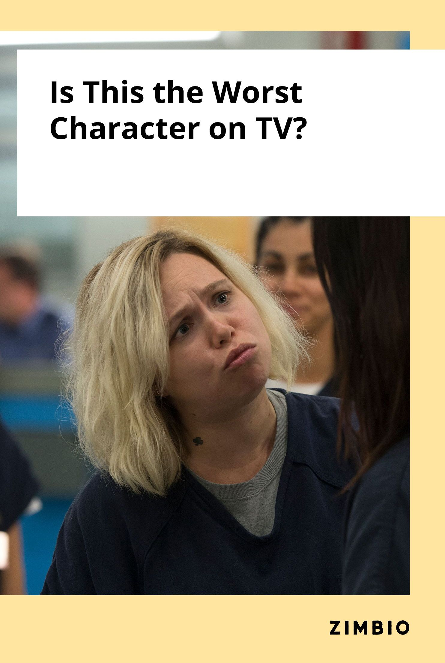 Amanda Fuller Lesbian is this the worst character on television? | orange is the
