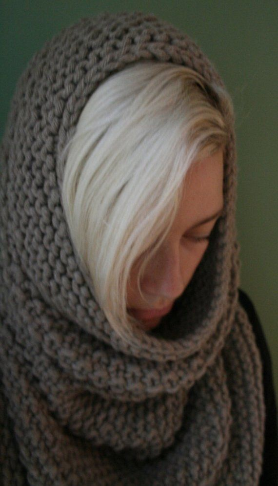 KNITTING PATTERN 'Joan of Arc' very bulky cowl by ...