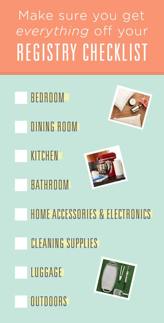 The Wedding Registry Checklist Every Couple Needs You Ve