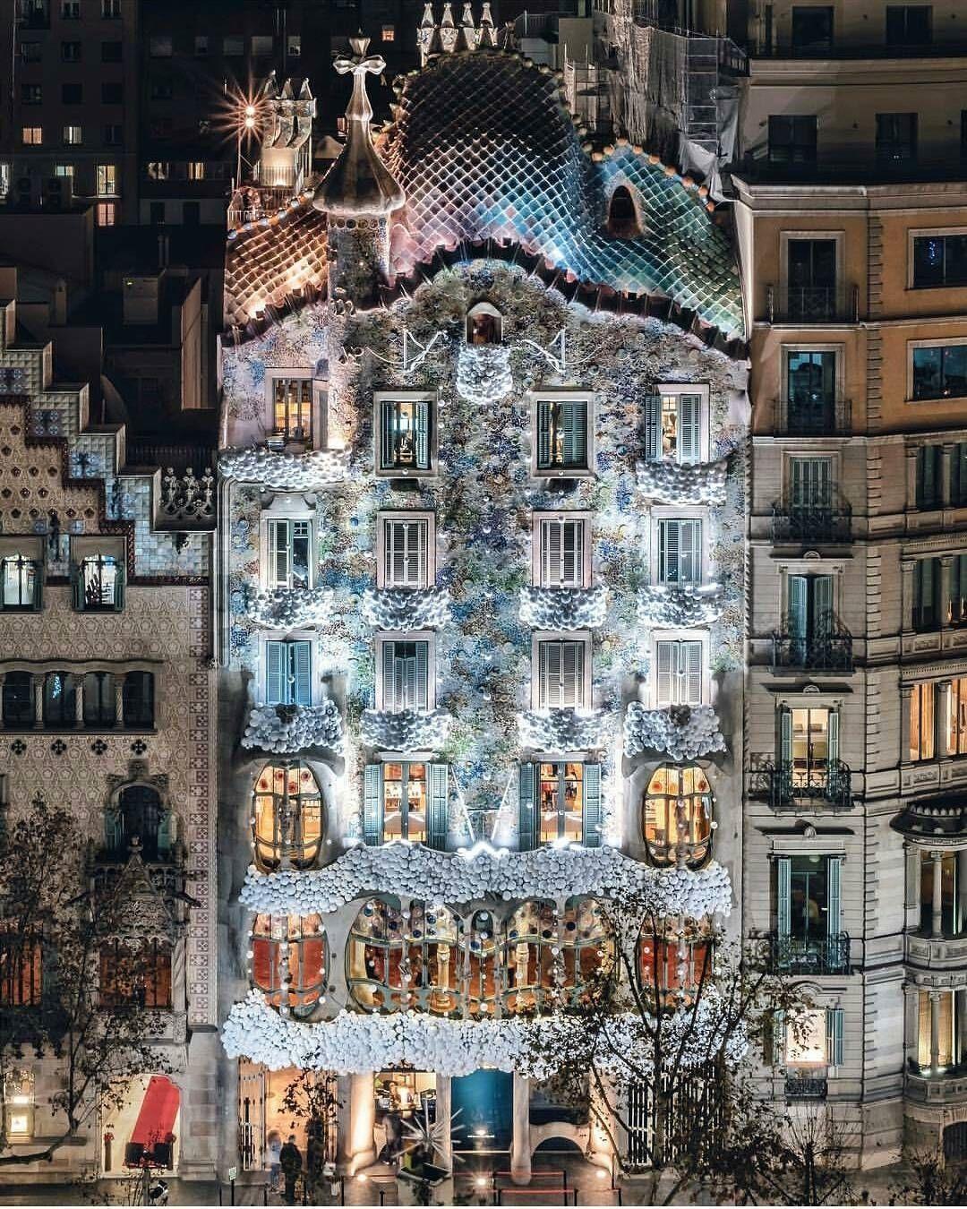 Casa Batlló Gaudi Barcelona Gaudi Gaudi Architecture European Architecture