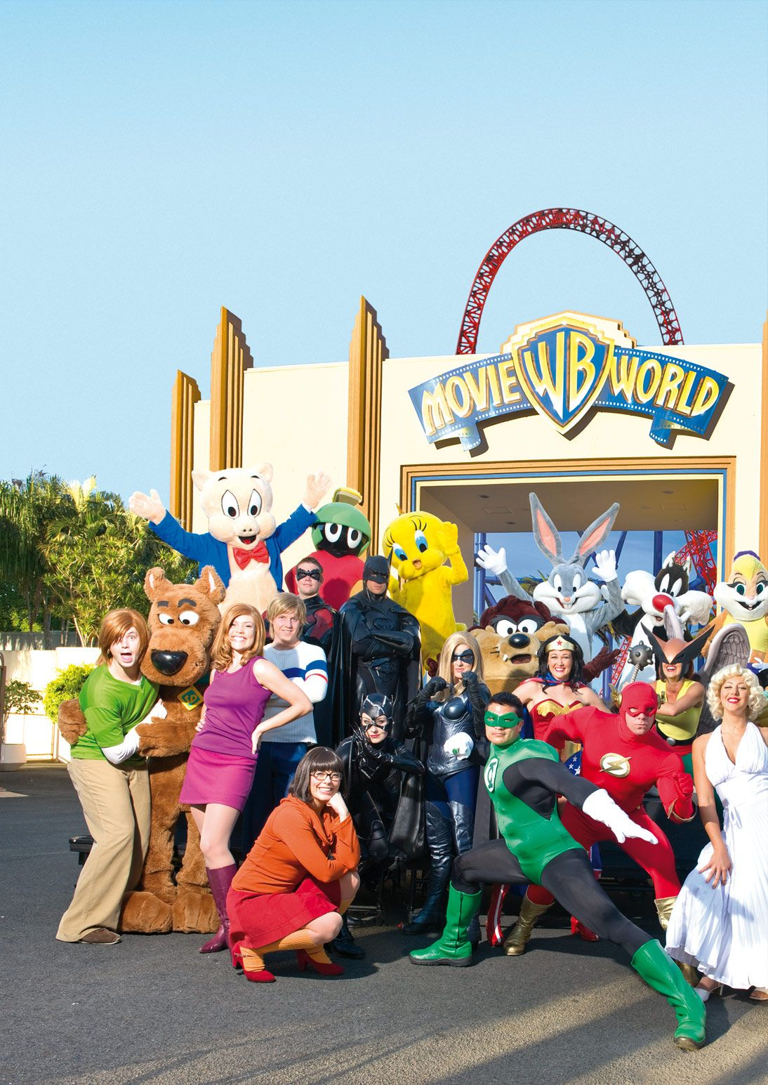 I Went To Movie World Alot When I Was Younger And I Went On My First