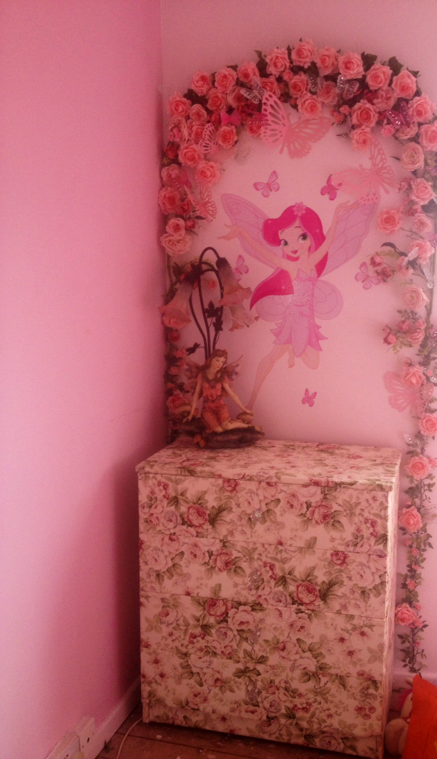 Fabric Covered Drawers Fabric Covered Dresser Little Girls Bedroom Ideas  Fairy Garden Bedroom