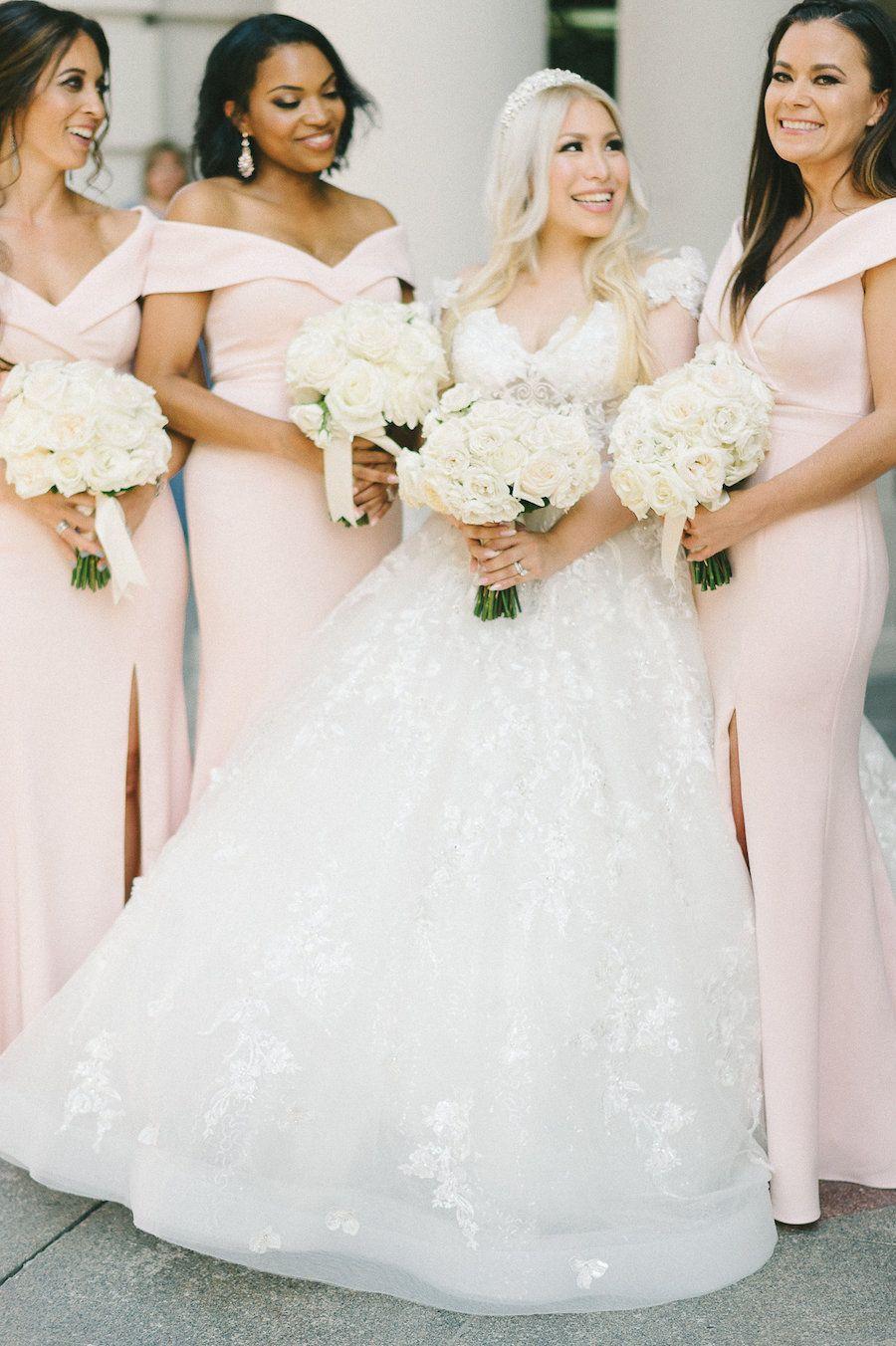 Glamorous Black And Gold Washington Dc Wedding At The Willard Modwedding Bridesmaid Dresses Cheap Bridesmaid Dresses Bridesmaid Attire [ 1352 x 900 Pixel ]