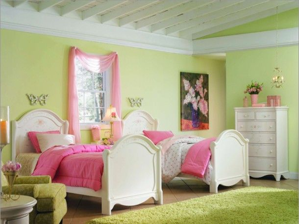 Pink And Green Bedroom Designs Delectable Green & Pink In The Bedroom 17 Fascinating Ideas  Green Rooms Inspiration Design