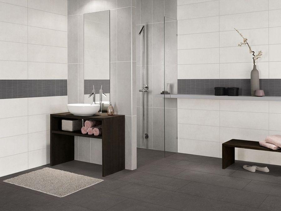 Hausliche Verbesserung Bad Fliesen Braun Kleines Weis Und Grau Home Dekorationsideen Interior Design Badez Badezimmer Fliesen Badezimmer Grau Bad Fliesen Ideen