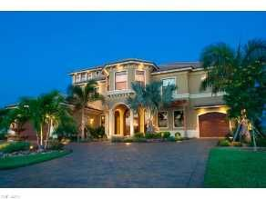 Immobilien USA Cape Coral Haus Kaufen Luxusvilla Mit Pool + Spa, Westlage,  Golfzugang Im