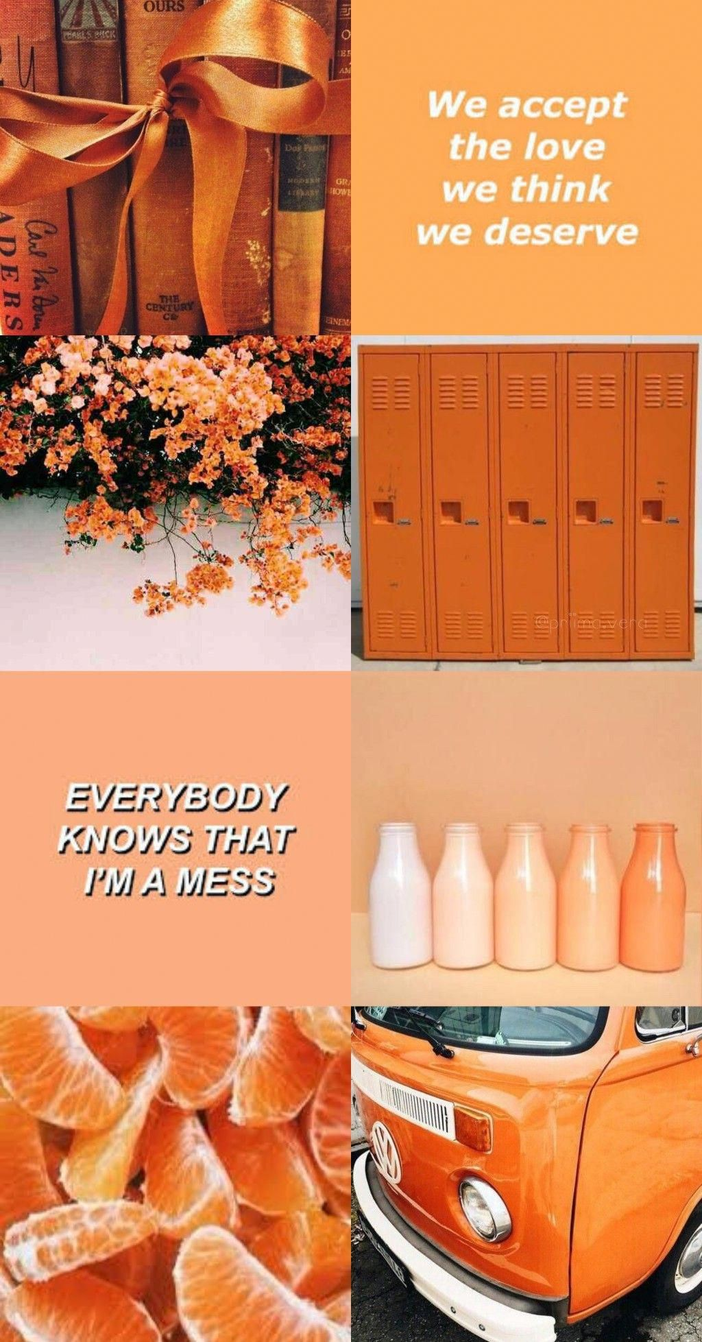 Orange Aesthetic Yellowastheticwallpaperiphone Orange Aesthetic Orange Wallpaper Yellow Aesthetic Pastel