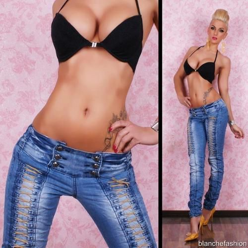 SEXY JEANS TROUSERS SIZE: L, UK: 12, EU: 40 | eBay | Sexy Clothes ...