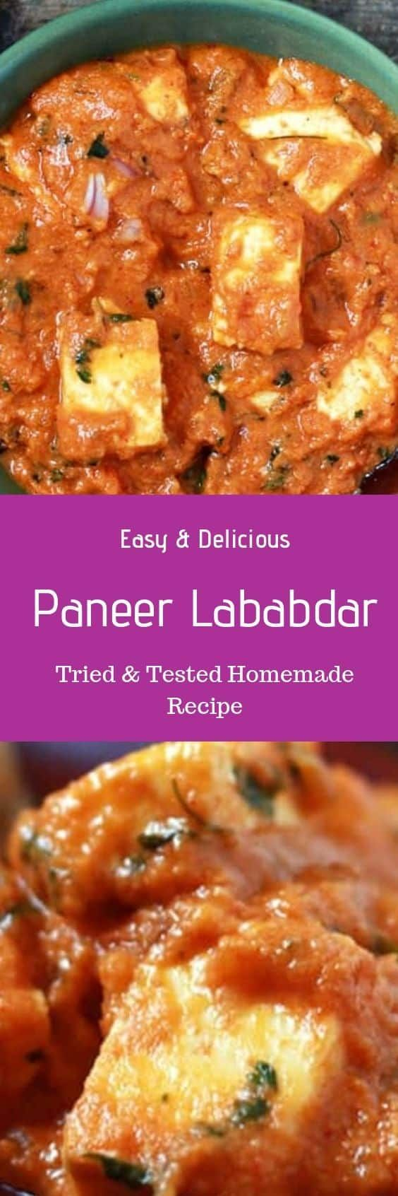 paneer lababdar recipe is a very rich and creamy side dish recipe this restaurant style paneer on hebbar s kitchen recipes paneer lababdar id=77996