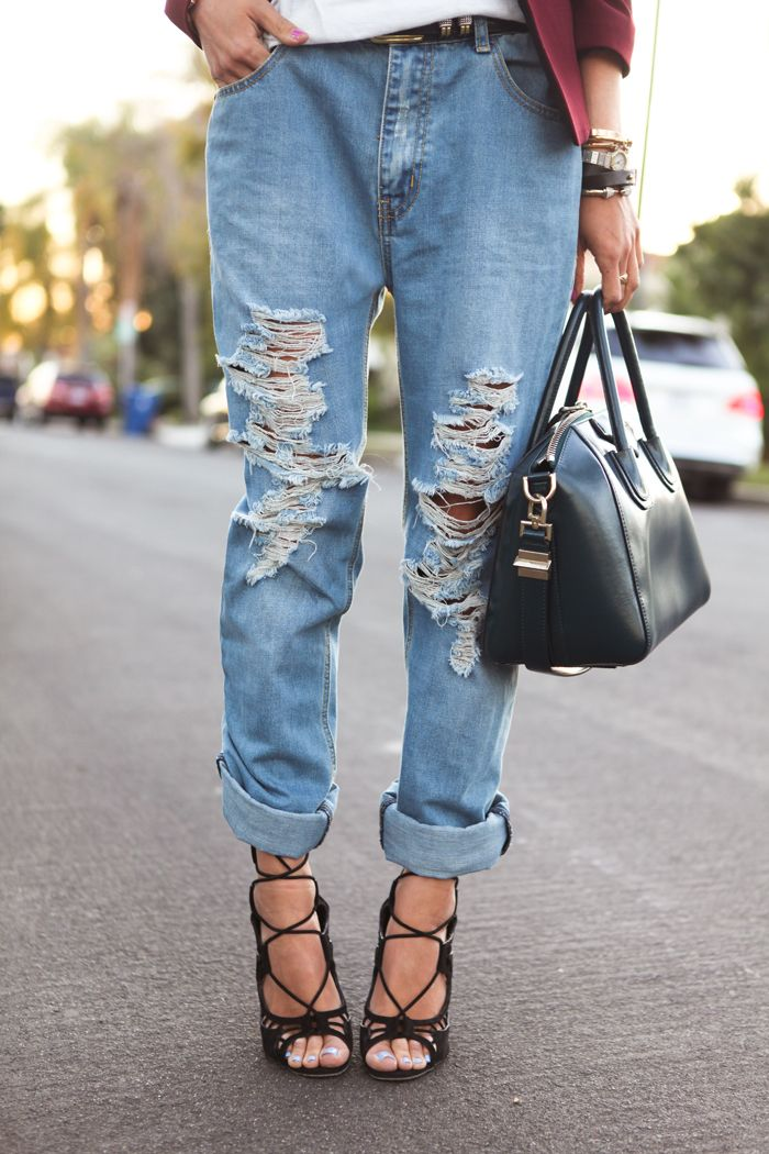 Rolled Up Jeans With Heels: Being Different Is New Cool ...