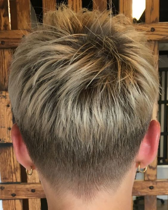 Short Hairstyle For Older Woman With Fine Thin Hair - Stylendesigns