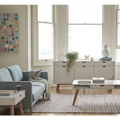 Frieda 1 Drawer Coffee Table Floor Rugsfloor Lampsfreedom Furnitureinterior