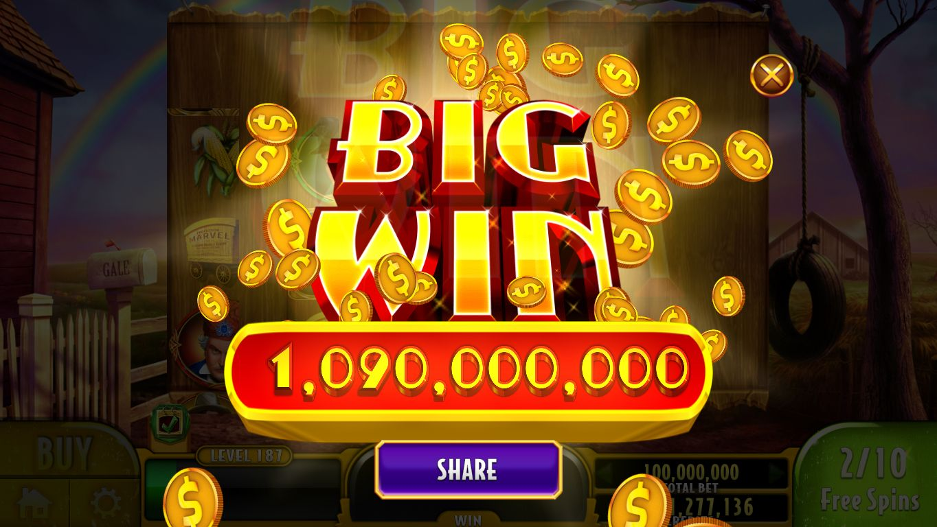 I just won 1,090,000,000 Credits! Join me to WIN BIG in