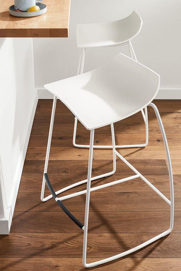 Bring A Fresh Look To Your Dining Room Or Kitchen With The Hoop Stool