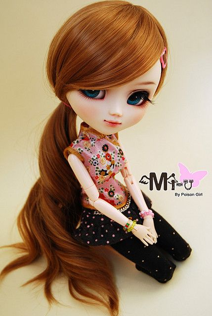 Mi U Pullip Custom Cute Dolls Beautiful Dolls Blythe