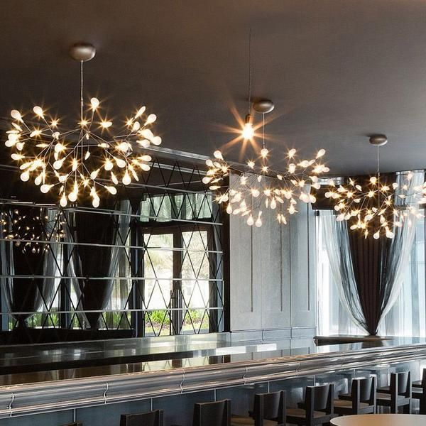 Modern Led Olive Branch Chandelier Lighting In 2019