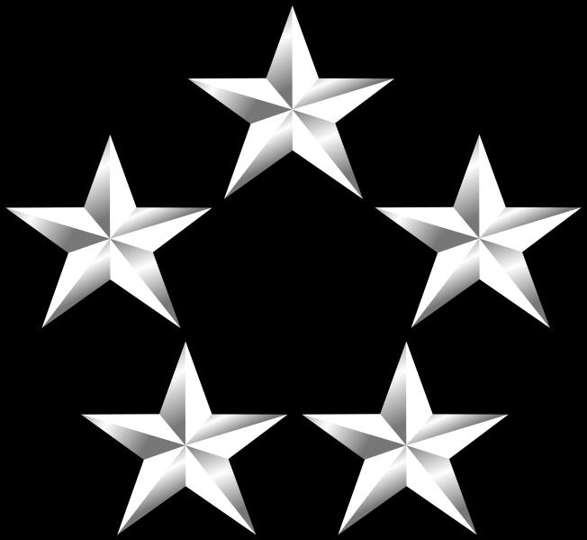 General Of The Army Five Star Star Tattoos Tatoos Stars