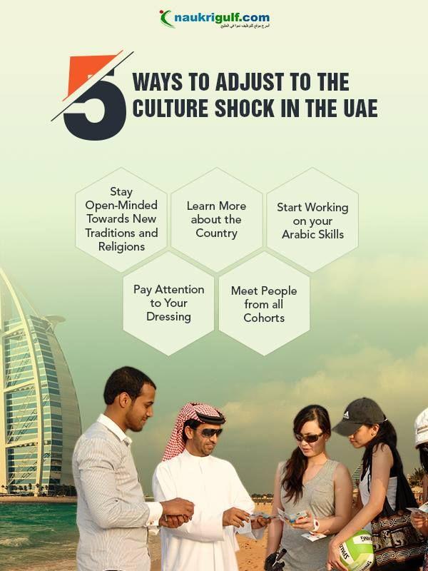 Tips to Overcome the Culture Shock in #UAE #workinginUAE #naukrigulf