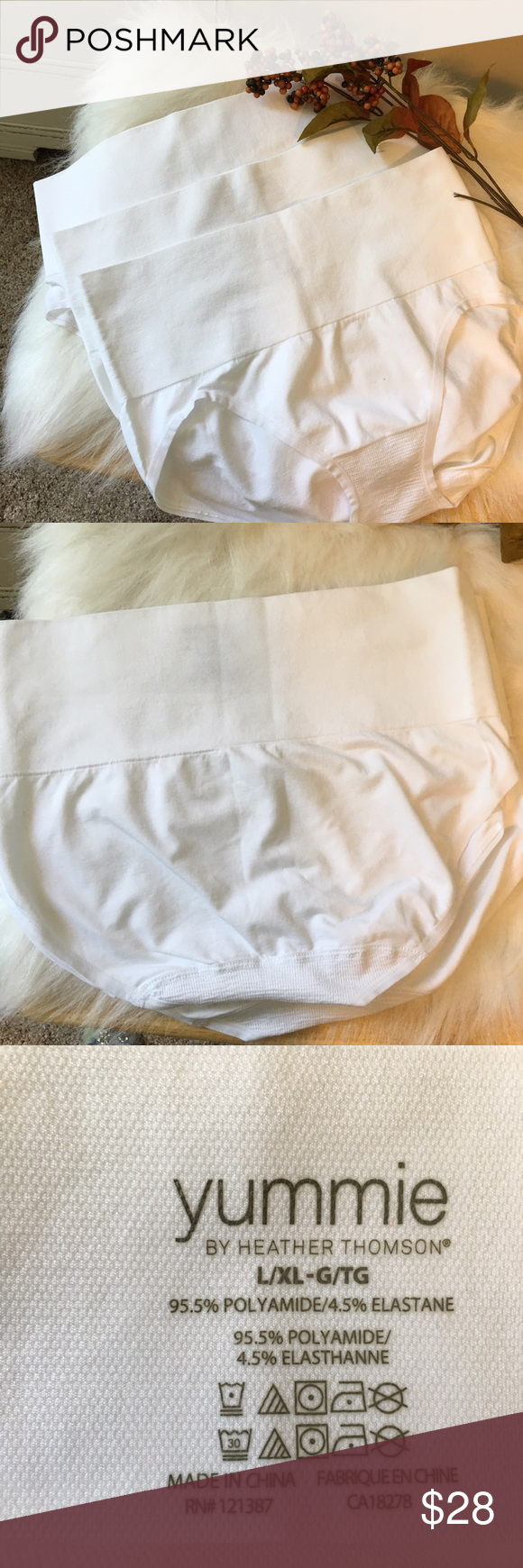 Brand New 3 Pack Yummie Panties Wonderful Shapewear by Yummie.  Get that smooth finished look in any outfit.  The wide waistband provides great tummy support.  Whittle your middle and lift that buttocks  Yummie Intimates & Sleepwear Shapewear