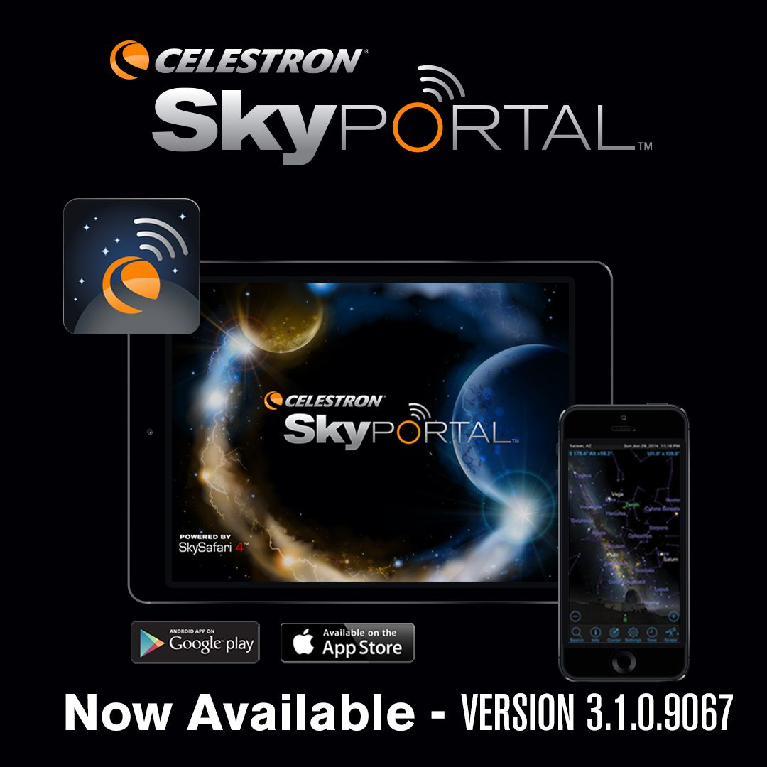 Download the latest version of our FREE SkyPortal Mobile