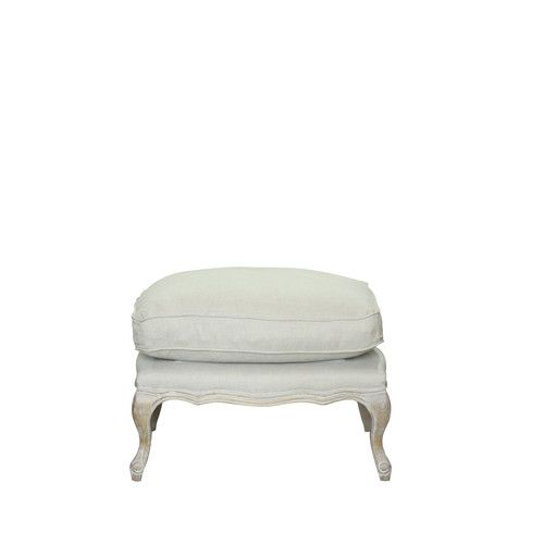 Dorothy Leather Ottoman #birchlane | furniture/new build | Pinterest ...