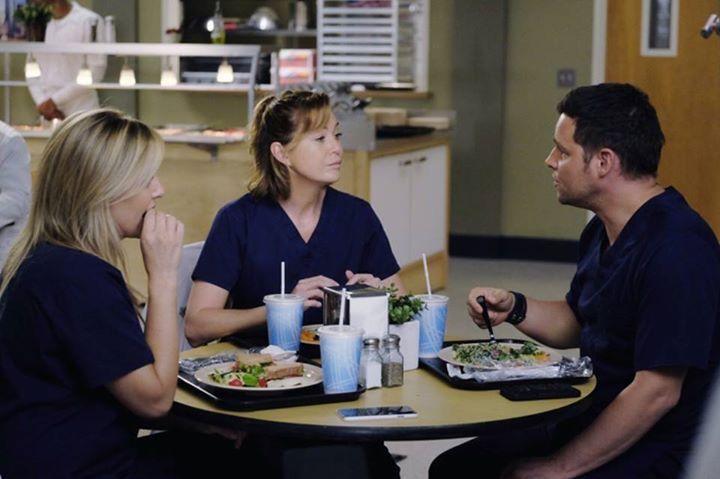 Grey, Karev n Robbins Season 12x6 Grey's Anatomy