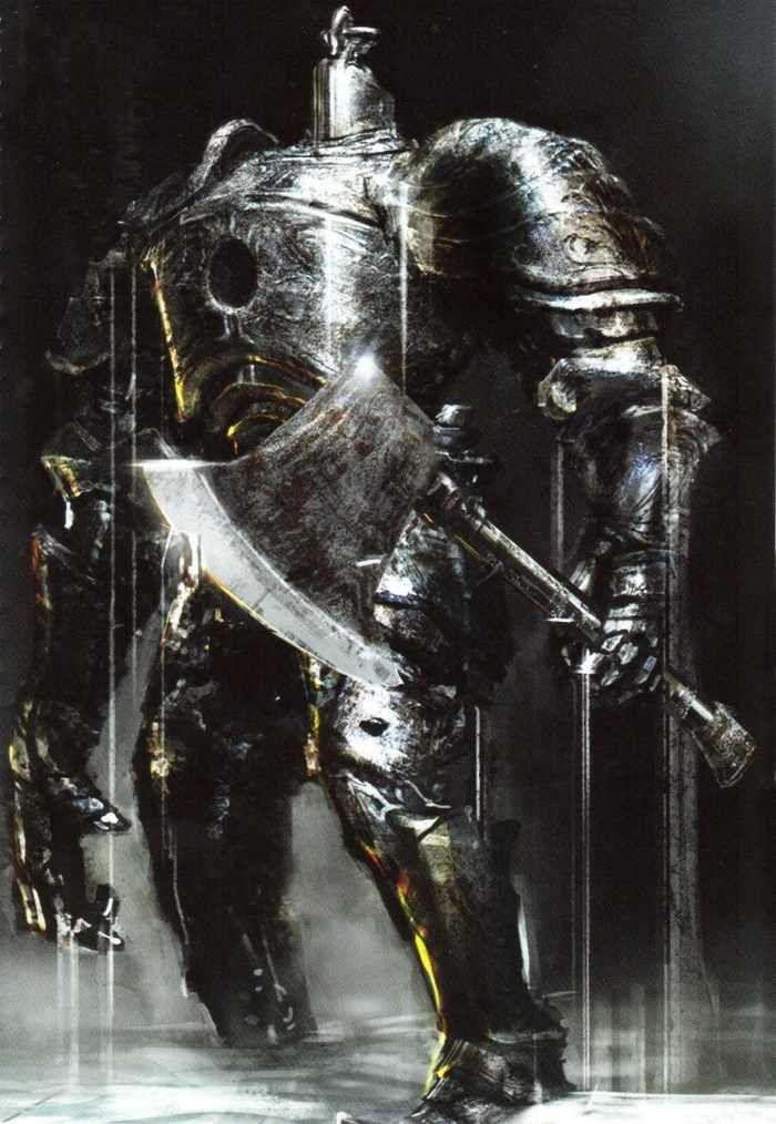 Iron golen um dos bosses com mais presença na série souls não equivale a sua dificuldade mais a luta é boa um boss épico!