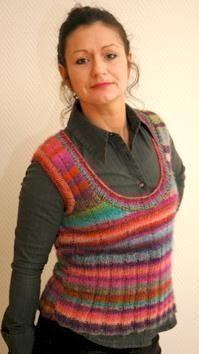 Photo of Pullunder mit großem Ausschnitt aus Mille Colori ,  #aus #Ausschnitt #Colori #g…,  #aus #Au…