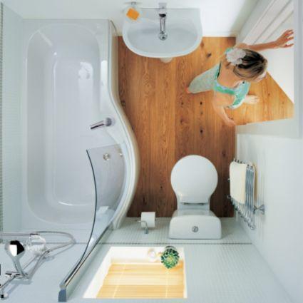 Ideal Standard Space LH Acrylic PShaped Shower Bath L48mm W Impressive Ideal Bathroom Ideas