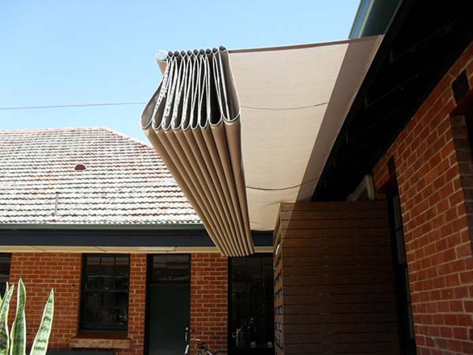 Shade Sails Outdoor Structures For Residential Patio Roof Retractable Shade Pool Shade