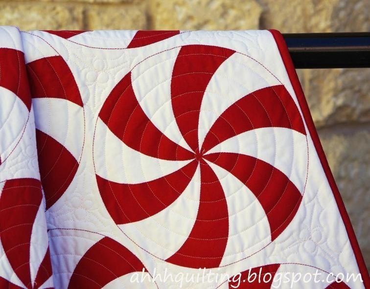 Peppermint Swirl Quilt Pattern | Peppermint and Patterns : swirl quilt - Adamdwight.com
