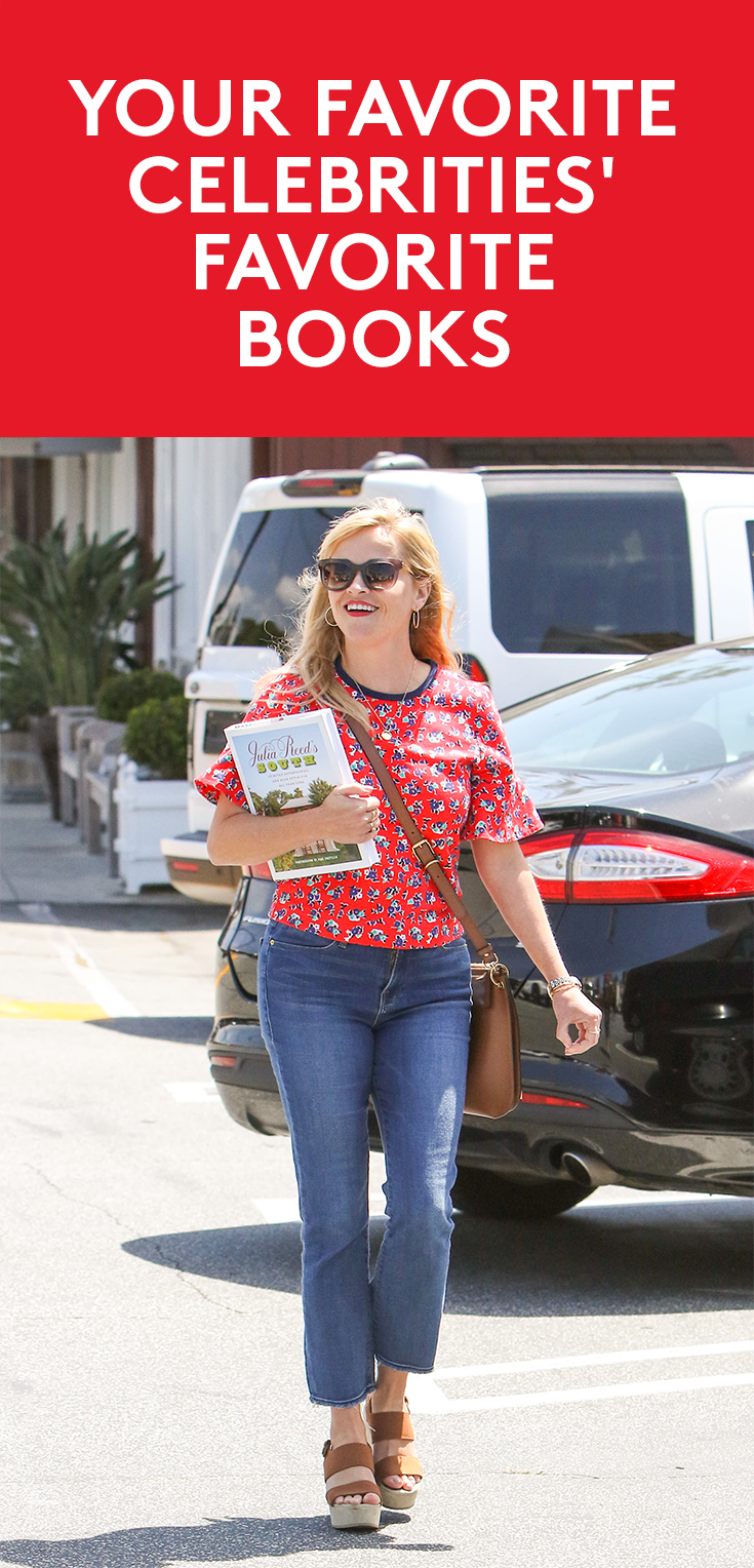 17 Books Recommended By Your Favorite Celebrities Celebrity Books Reese Witherspoon Book Club Celebrities