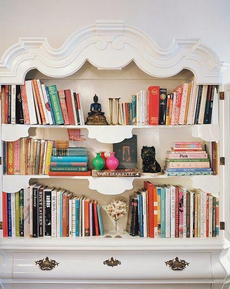 Bookshelves Abound