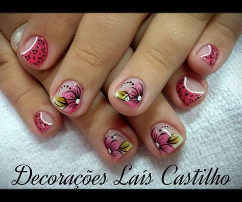 Nails u as uhnas dise o de u as para se oritas - Disenos de unas pintadas ...