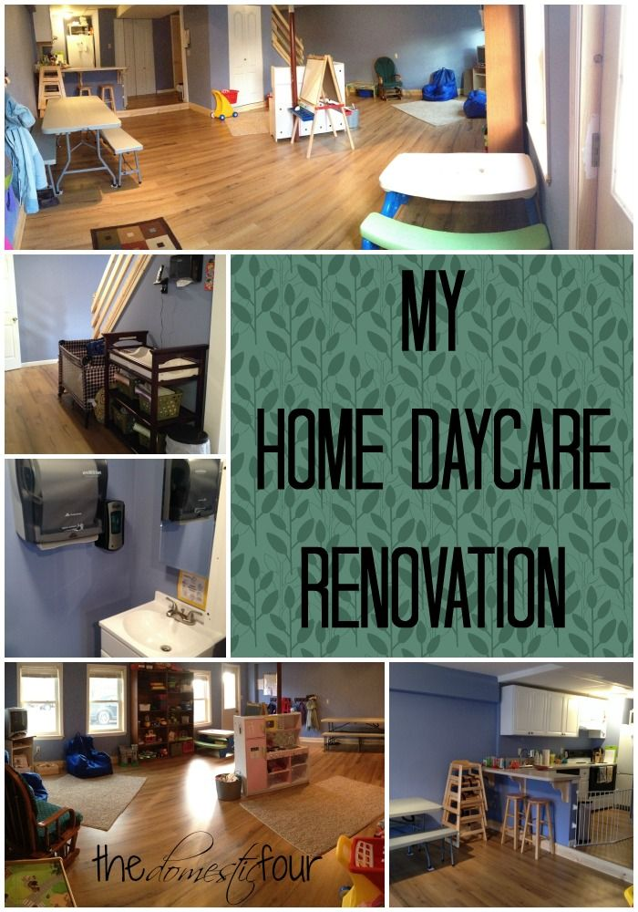 Home Daycare Rooms, Home Daycare, Daycare Spaces