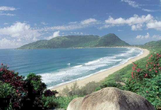 Praia da armação/ Floripa /Brasil
