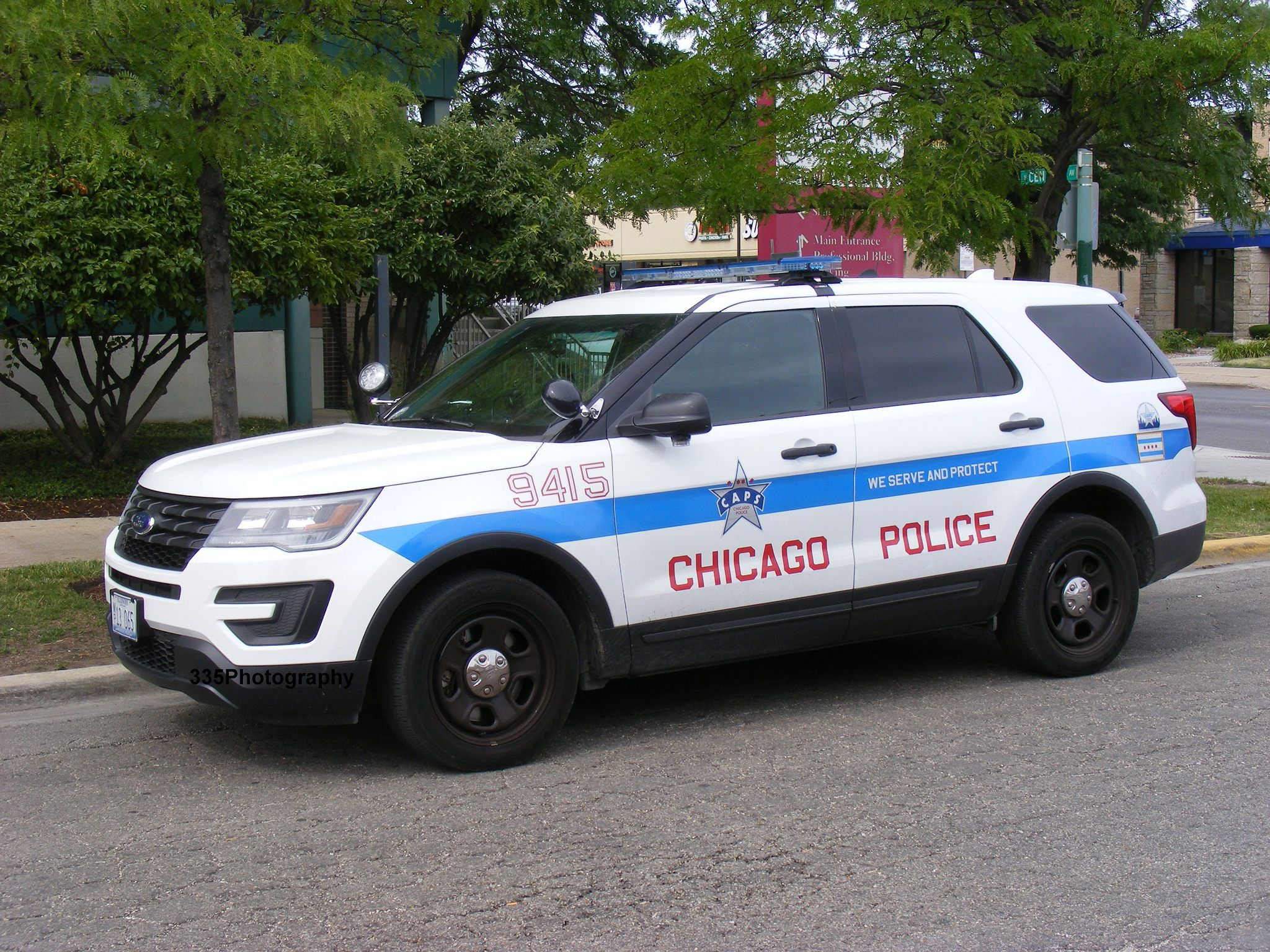 Chicago Il Police 9415 Ford Interceptor Utility Ford Police Police Emergency Vehicles