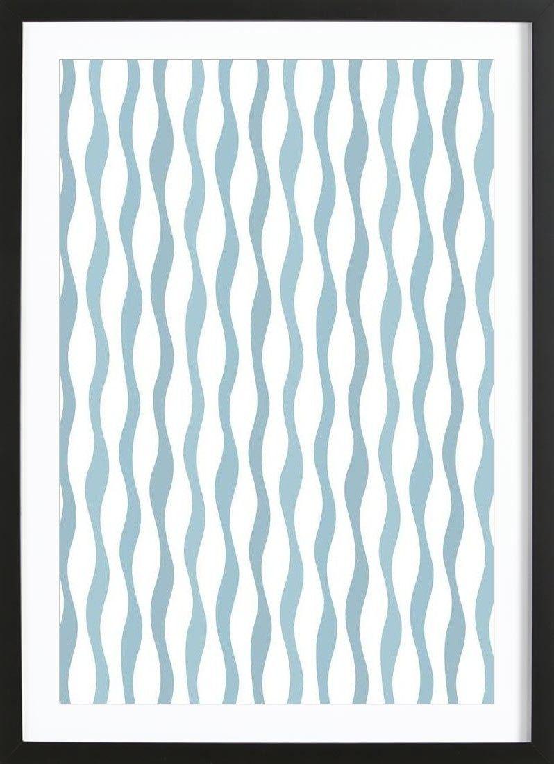Wave VON Lidia Blomgren now on JUNIQE! | Pattern and texture | Pinterest