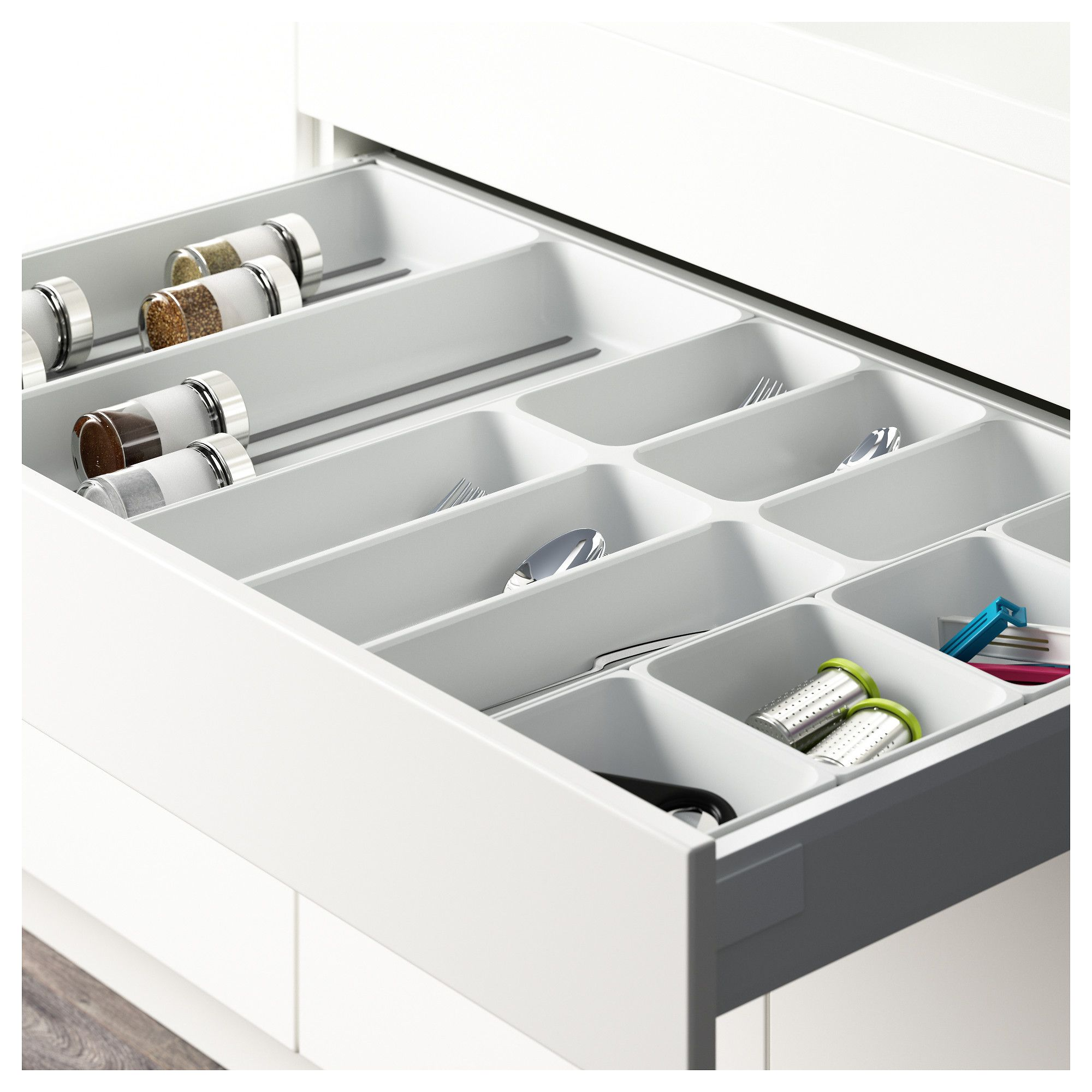 Ladeverdeler Ikea Ikea Variera Flatware Tray White In 2019 Products Ikea