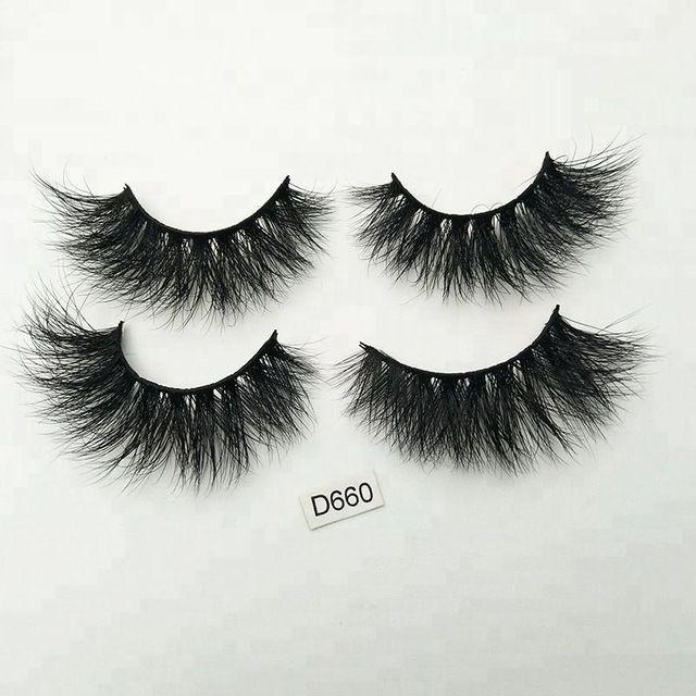 Free Fake Eyelashes Samples Custom Private Label 3d Mink Eye Lashes