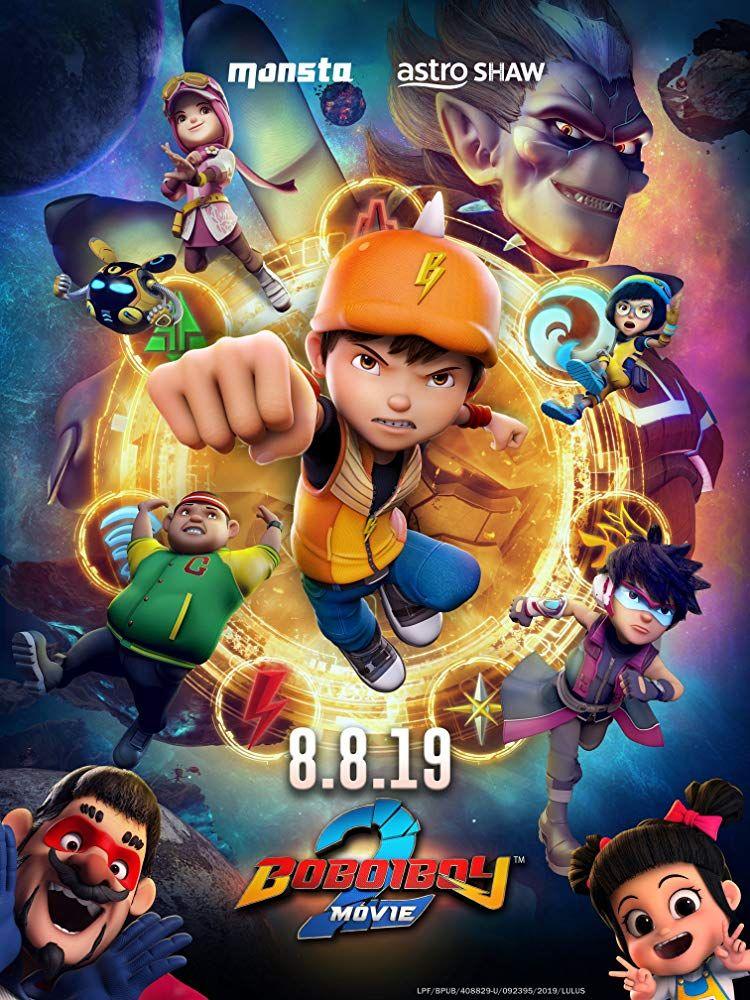 Boboiboy Movie 2 2019 Galaxy Movie Boboiboy Anime Anime Movies