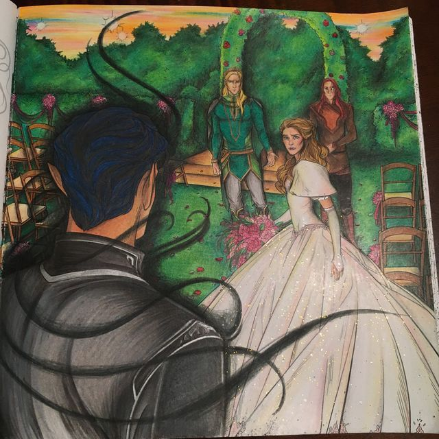 The Court Of Dreams A Court Of Mist And Fury Fan Art With Images