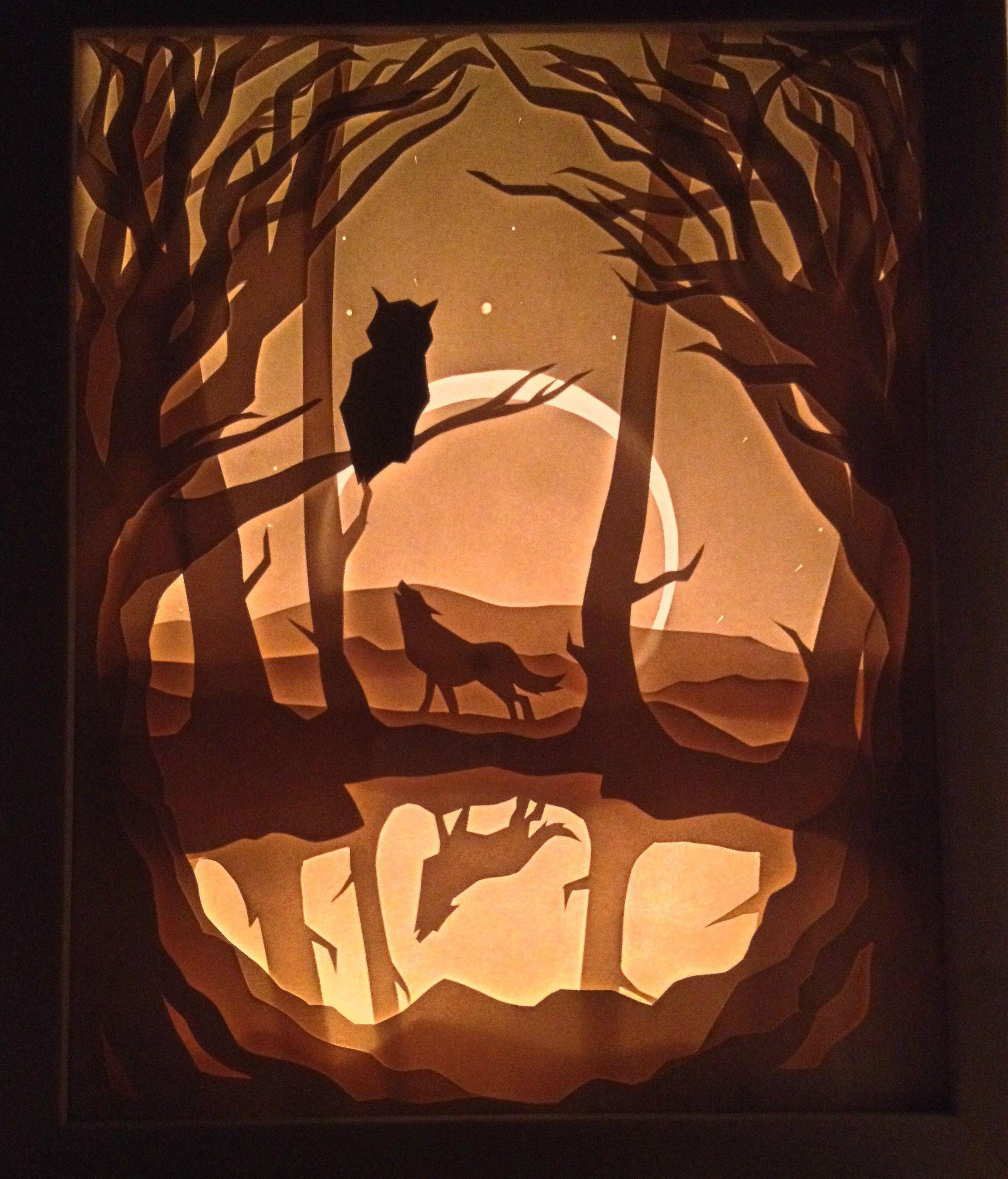 Forest Light Box - http://www.reddit.com/r/